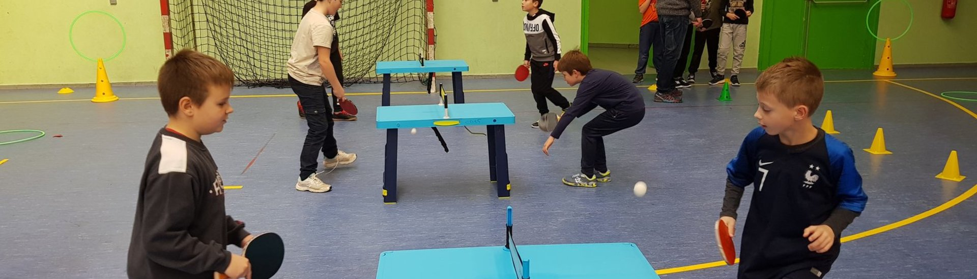 Rencontre USEP Partenariat Tennis de table n°2 C3