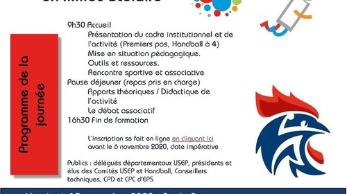 Formation Partenariale Handball BAR-LE-DUC (Sud Grand-Est)