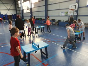 Rencontre USEP Partenariat Tennis de table n°3 C3